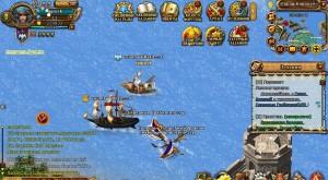 морской бой карта