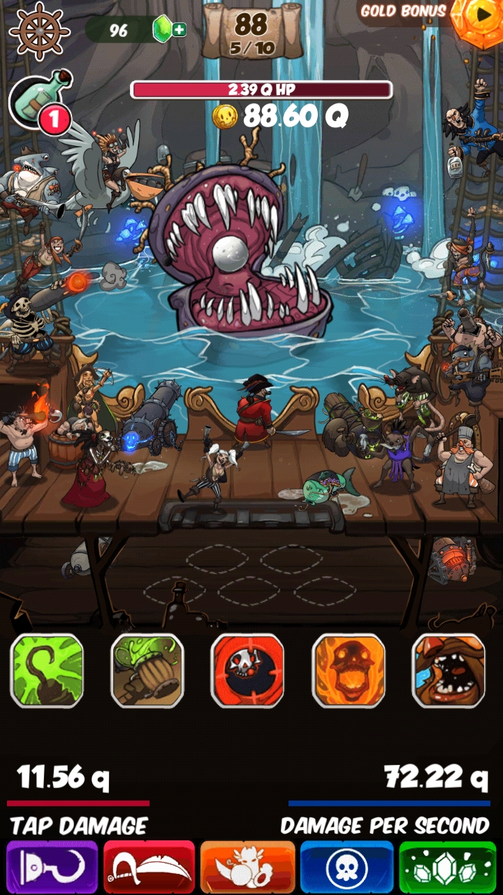 clicker pirates 2