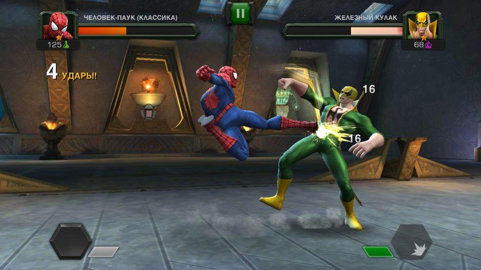 Marvel битва чемпионов скрин