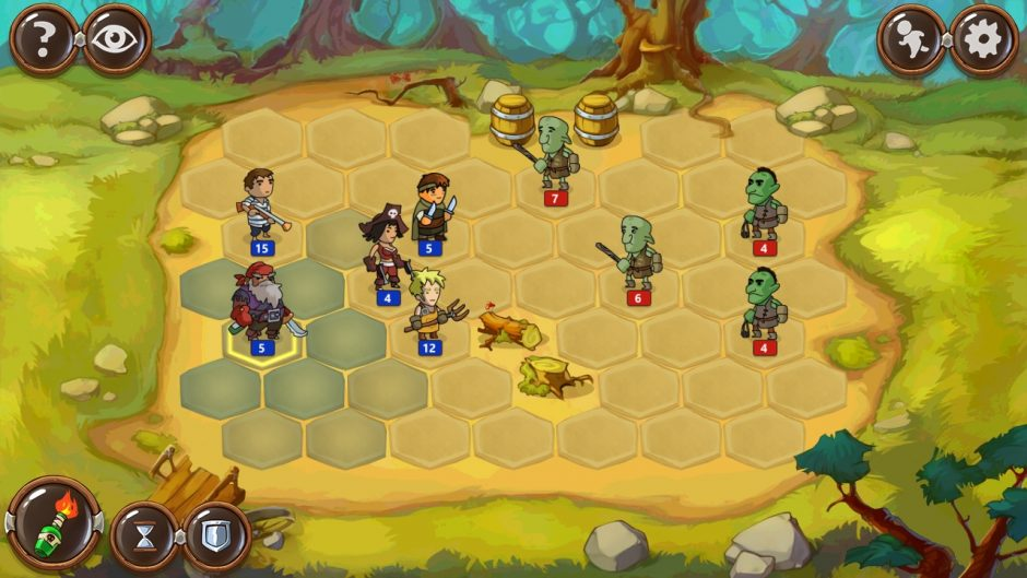 Braveland battles герои магии