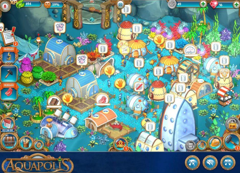 Aquapolis ферма на русском